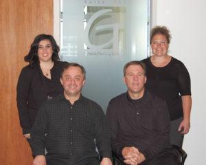 From L to R: Giselle Mordoch Singer, Louis Burwell, Jim Martin, Kelli Filippi